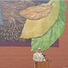 Mayor John Gilstrap speaks at Tobacco Heritage Mural dedication
