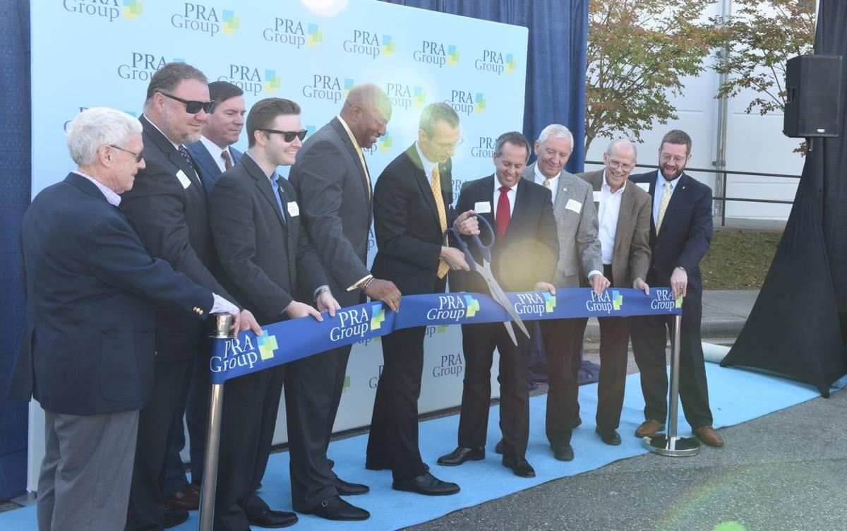 PRA Group ribbon cutting held Monday, Nov. 4, 2019
