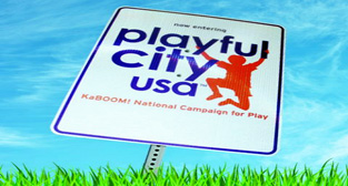 Playful City USA logo
