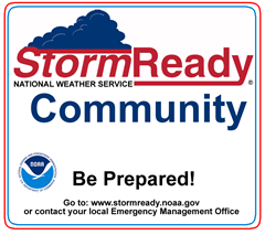 National Weather Service - StormReady Community - Be Prepared!